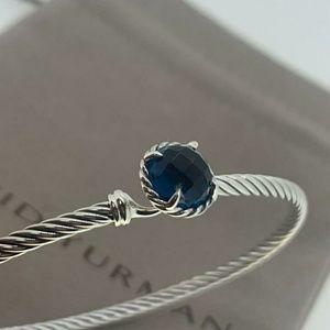David Yurman Chatelaine Bracelet Hampton Blue